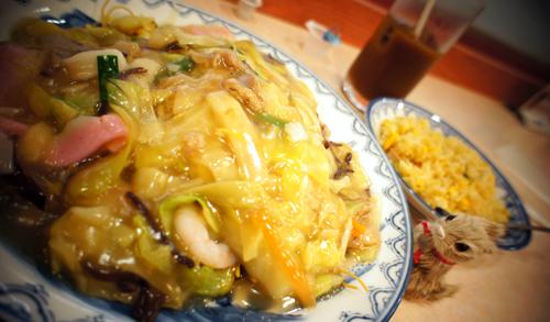 長崎ちゃんぽんを長崎空港で食べたよん