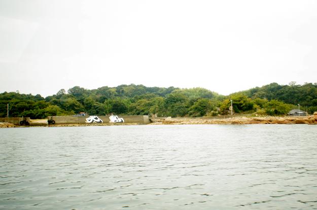 犬島上陸~